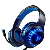 Pacrate Auriculares Gaming PS4, Auriculares con...
