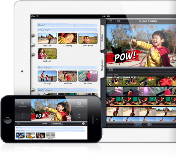 iMovie crear editar videos iphone ipad