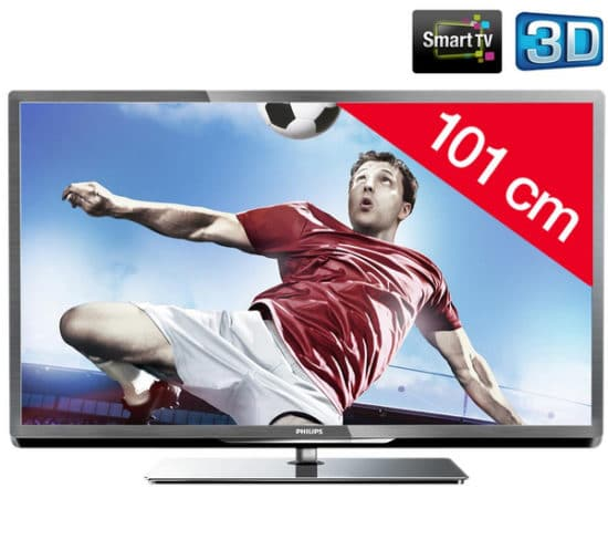 Televisor 3D philips LED 40PFL5507H12