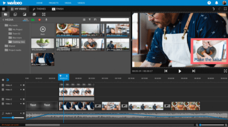 WeVideo - editor de video online facil
