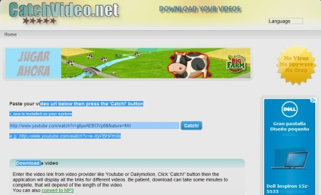 catchvideo-bajar videos de youtube