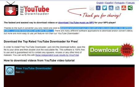 free youtube downloader mejor programa bajar videos youtube