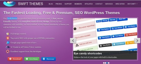 Swift themes mejor tema para wordpress
