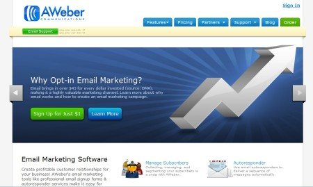 aweber-mejor servicio email marketing