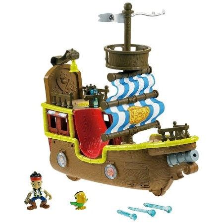 Fisher Price - Jake y los Piratas de Nunca Jamás - Bucky Barco Pirata Musical