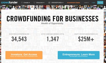 Crowdfunder financiacion empresas