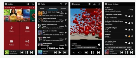 MixZing- mejor reproductor de musica android