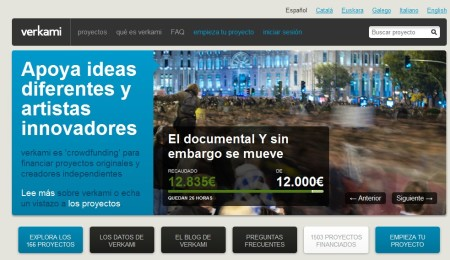 verkami-financiacion proyectos