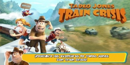 tadeo jones train crisis juego para ninos gratis 1