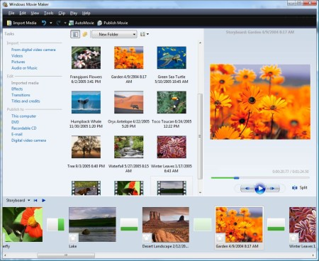 Windows Movie Maker - mejor editor de video gratis