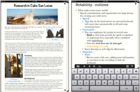 Notability mejores apps para iPad