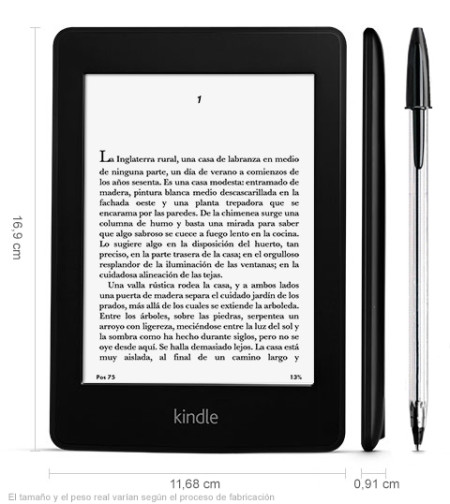 Amazon Kindle Paperwhite 3g - mejores ereaders