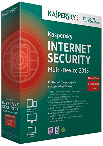 Kaspersky Internet security 2015 - mejor antivirus