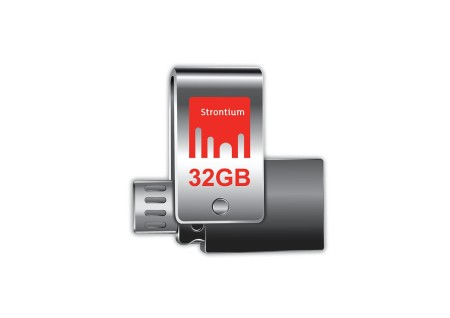 STRONTIUM NITRO PLUS 32GB ON-The-Go (OTG) Unidad USB 3.0 Flash