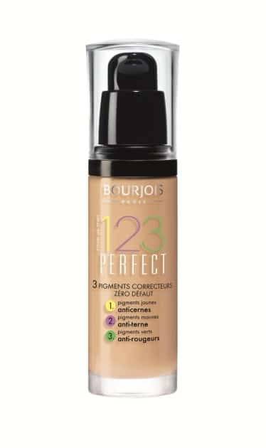 Bourjois 123 Perfect Foundation - mejor base de maquillaje barata