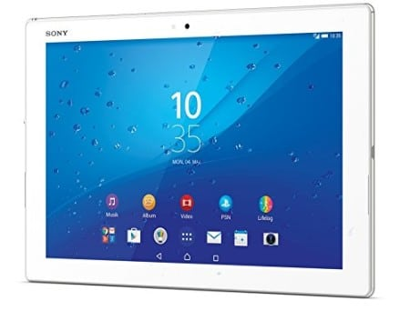 Sony Xperia Z4 Tablet - mejores tablets android