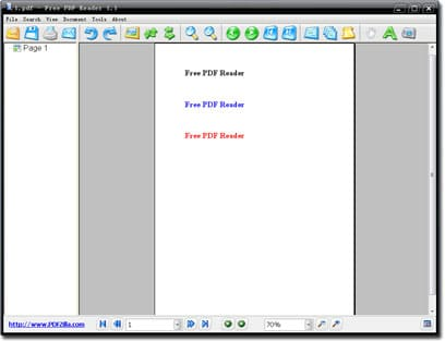 Free PDF Reader - lector pdf gratis para windows
