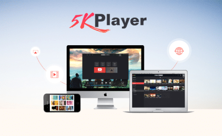 5KPlayer reproductor de video ultrahd 3d gratuito