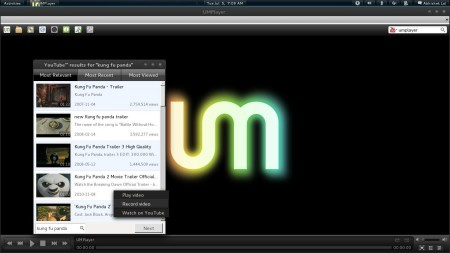 UMPlayer - reproductor multimedia