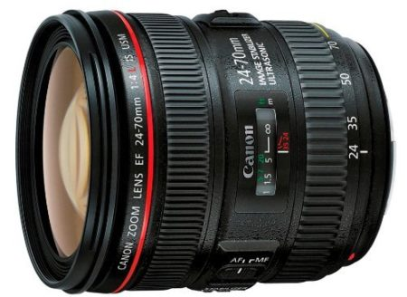 Canon 24-70 mm f4 L IS USM EF - Objetivo para Canon