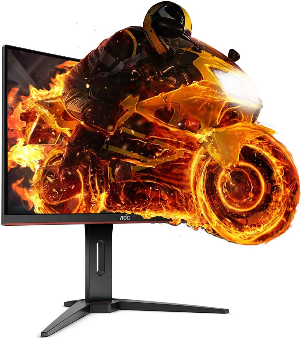 1 mejores monitores gaming - aoc