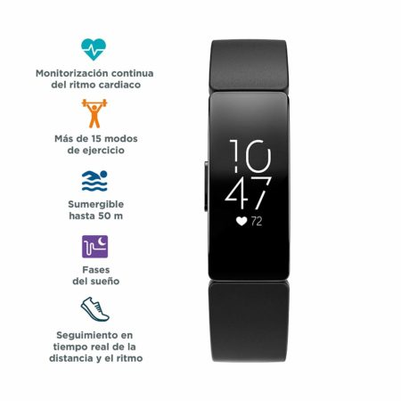 Fitbit Inspire HR - mejores podometros
