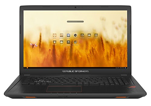 "ASUS GL753VD-GC011 - Ordenador Portátil de 17.3"" Full HD IPS (Intel Core i7-7700HQ , 8 GB RAM, 1 TB HDD + 128 GB SSD, Nvidia GeForce GTX 1050 de 4 GB, Endless OS (Inglés)) Metal Negro - Teclado QWERTY Español"