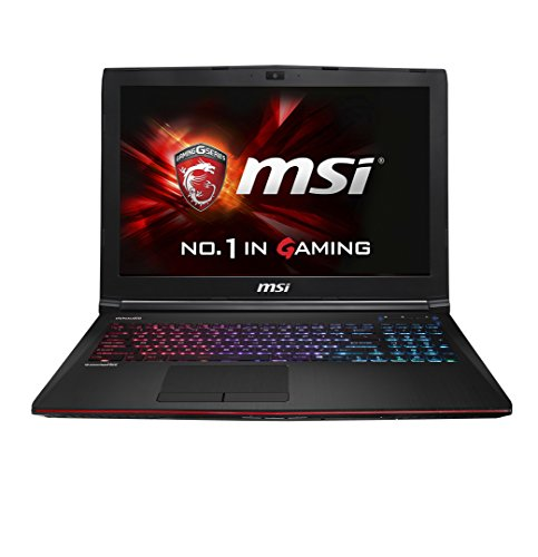 MSI Gaming GE62 2QD(Apache Pro)-246ES - Ordenador portátil (Portátil, DVD Super Multi, Touchpad, Windows 8.1 actualizable gratuitamente a Windows 10, Ión de litio, 64-bit)