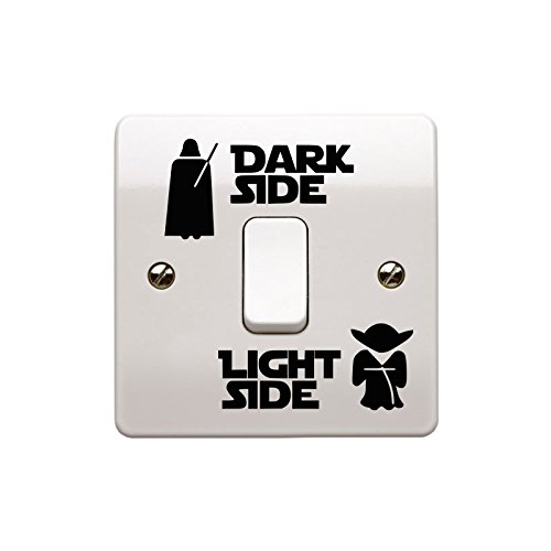 Star Wars vinilo Adhesivo para interruptor de pared