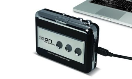 mejor convertidor cassette a mp3 ion audio tape express