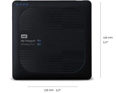 mejor disco duro wifi ocu - WD My Passport Wireless Pro