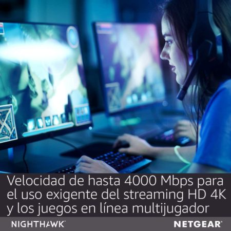 mejor router gaming Netgear Nighthawk X6S
