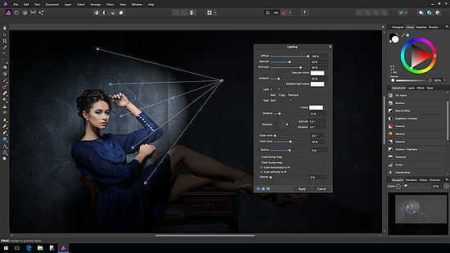 mejor alternativa gratis a photoshop affinity photo