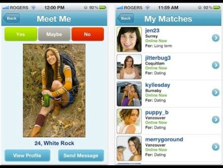 apps de contactos Plenty Of Fisch (POF)