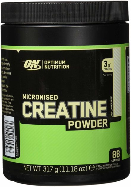 mejor creatina - optimum nutrition