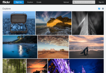 guardar fotos online gratis Flickr