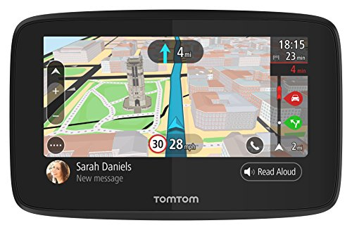 TomTom GO 520 - Navegador GPS de 5'' (Bluetooth, USB, 16 GB), color negro- version importada