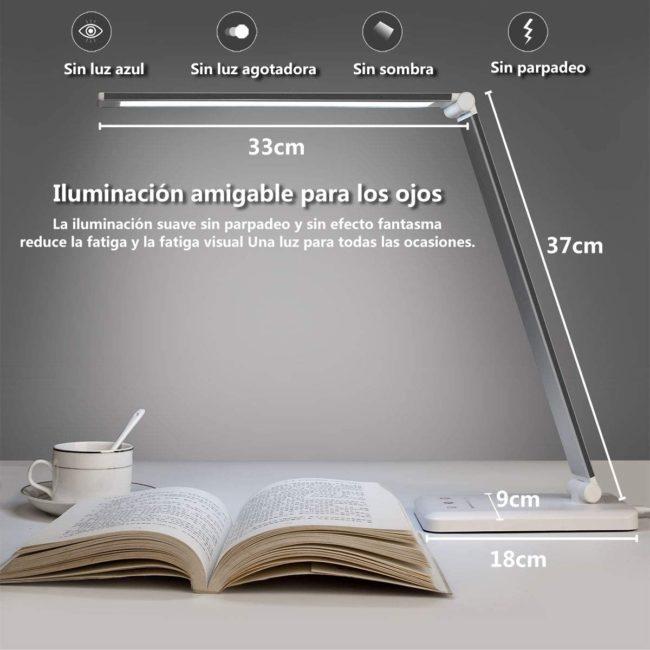lampara escritorio led stator