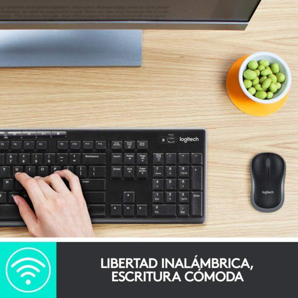 Logitech MK270 Combo Teclado y Ratón inalámbrico para Windows