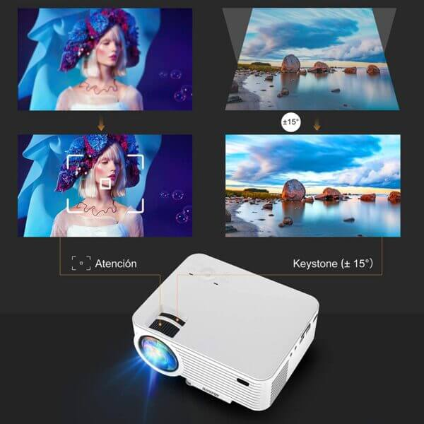 HOMPOW Projector