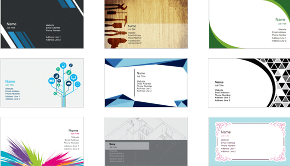 Easy-to-Use Business Card Maker